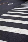 Cruzamento de zebra Imagem de Stock