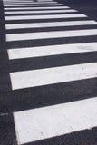 Cruzamento de zebra Fotos de Stock Royalty Free