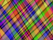 Cruzamento diagonal de sobreposição abstrato do teste padrão de Digitas Fotos de Stock