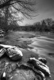Cruzamento do inverno Fotografia de Stock