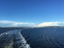 Cruzamento fora de Oslo Fotos de Stock