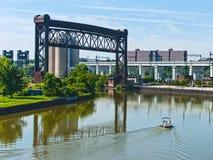 Cruzamento no rio Imagem de Stock Royalty Free