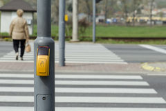 Cruzamento pedestre Imagem de Stock Royalty Free