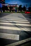 Cruzamento pedestre Imagens de Stock Royalty Free