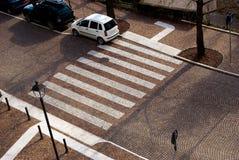 Cruzamento pedestre Fotografia de Stock
