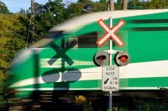 Cruzamento Railway Foto de Stock