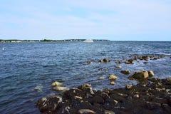 Cruzando el horizonte Foto de archivo libre de regalías