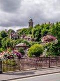 Cruzando o Severn Fotografia de Stock Royalty Free