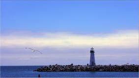 cruze latarni morskiej sata Zdjęcie Royalty Free
