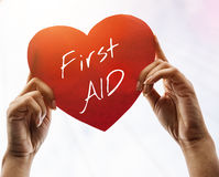 Cruze o paramédico Medication Accidental Emergency Concep dos primeiros socorros fotografia de stock
