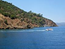 Cruzeiro azul em Turquia Fotos de Stock Royalty Free