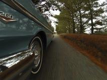 Cruzeiro clássico do carro imagens de stock royalty free