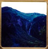Cruzeiro de Alaska excursões do curso 1970 e da família do vintage do ` s de 35 corrediças do milímetro Foto de Stock