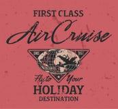 Cruzeiro do ar da primeira classe Foto de Stock Royalty Free