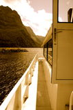 Cruzeiro do barco Fotos de Stock Royalty Free