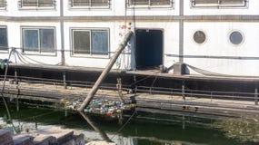 Cruzeiro do Nilo de Egito, cruzeiro velho fotografia de stock