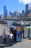 Cruzeiro do rio de Melbourne Imagens de Stock Royalty Free