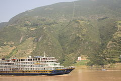 Cruzeiro do rio de Yangtze Imagens de Stock