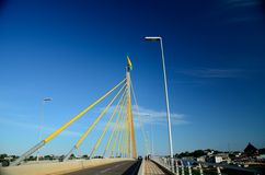 Cruzeiro do Sul Bridge. Cruzeiro do sul, Acre, Brazil. Amazon city. Bridge Stock Photo