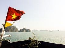 Cruzeiro longo da baía de Vietname Ha Fotos de Stock Royalty Free