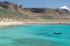 Cruzeiro na ilha Grécia de Gramvousa Imagem de Stock Royalty Free