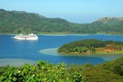 Cruzeiro tropical Fotos de Stock Royalty Free