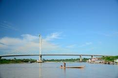 Cruzeiroen gör den Sul bron Royaltyfria Foton