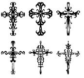 Cruzes ilustração royalty free
