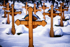 cruzes Imagem de Stock Royalty Free