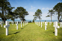 Cruzes da guerra em Normandy Foto de Stock Royalty Free
