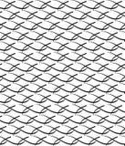 Cruzes decorativas abstratas Vector o teste padrão sem emenda fundo repetitivo preto e branco simples pintura de matéria têxtil A ilustração stock