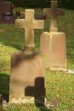 Cruzes do cemitério Imagens de Stock