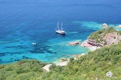 Crvena Glavica. Budva riviera. Montenegro Royalty Free Stock Images
