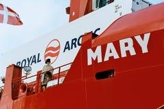 CRWON PRINCESS CHRISTEN ROYAL ARCTIC MARY SHIP Stock Photography