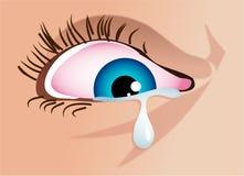 Cry royalty free illustration