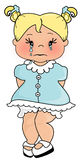 Cry Baby. Illustration of a young child crying Stock Photo