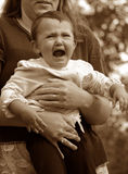 Cry Baby royalty free stock photo