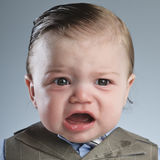 Cry Baby Businessman Royalty Free Stock Images