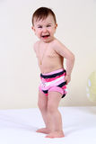Cry baby girl Stock Images