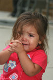 Crybaby 2. Young child crying royalty free stock photo