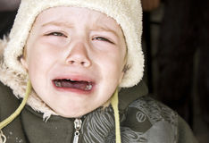 Crying baby Stock Image