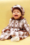Crying baby Royalty Free Stock Photos