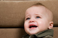 Crying Baby Royalty Free Stock Photography