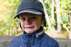 Crying baby boy Stock Image