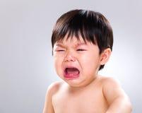 Crying baby boy Stock Photo