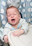 Crying baby Stock Photos