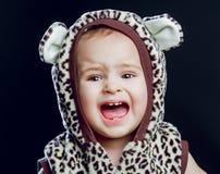 Crying baby, studio shot Stock Photo