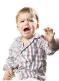 Crying boy Royalty Free Stock Photo