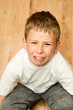 Crying boy Royalty Free Stock Photography