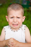 Crying boy Royalty Free Stock Images
